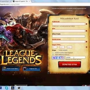 League Of Legends Nasıl Kayıt Olunur?