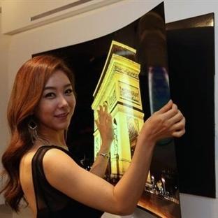 LG'den Süper Teknoloji Atağı Duvar Kağıdı OLED TV