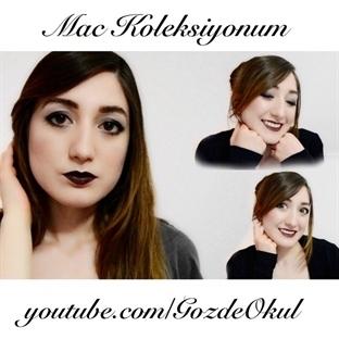 MAC koleksiyonum ve MAC ürünleriyle makyaj (video)