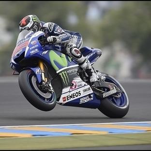 MotoGP: Fransa'da Yamaha Dublesi Zafer Lorenzo'nun