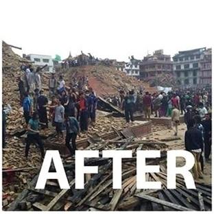 Nepal Kitabının Geliri, Nepal Depremzedelerine