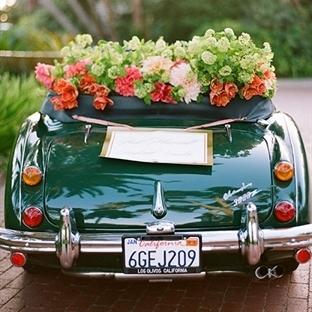 Nostaljik araba süslemeleri