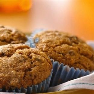 Pekmezli ve Tahinli Muffin Tarifi
