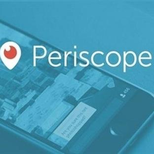 Periscope'a 10 günde 1 milyon kullanıcı kaydoldu