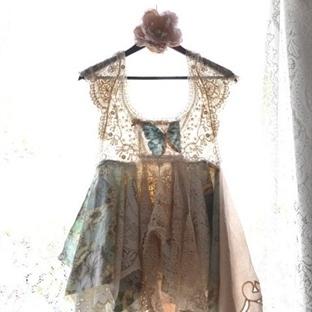 Romantik Boho Tarzı Kıyafetler (DIY)