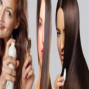 Saçı Düzleştirmek İçin Süt Maskesi