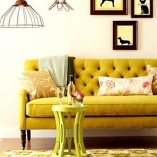 Sarı Oturma Odaları