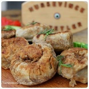 Tavada Mercimekli Gül Böreği Tarifi