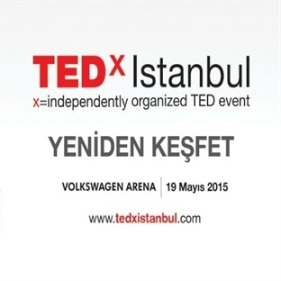 TEDxİstanbul, 19 Mayıs'ta Volkswagen Arena'da