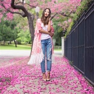 Trendy Kimono Ceketlerle Stiller