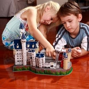Üç boyutlu oyuncaklarla oynayan çocuklar daha zeki