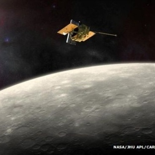 Uzay Aracı Yakıtının Bitmesiyle Merkür'e Çakıl