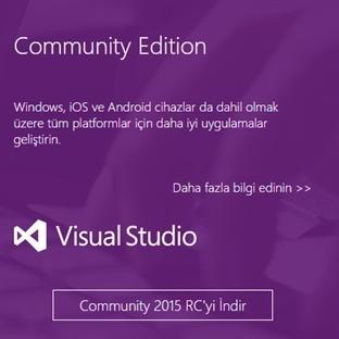 Visual Studio 2015  Sürüm Yönetimi ve Otomasyonu