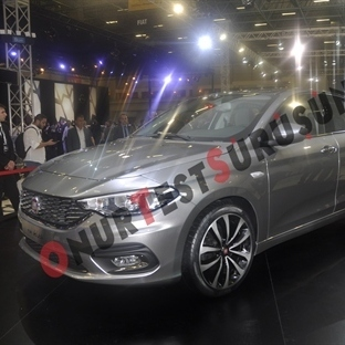 Yeni Fiat Aegean: İstanbul Autoshow 2015