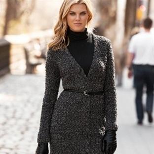 Yeni Moda : Örgü Hırka Kombinleri