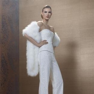 Yeni Moda : Pantolonlu Gelinler