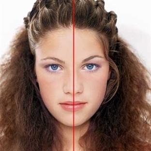 Yüzünüz Simetrik Değil Mi?