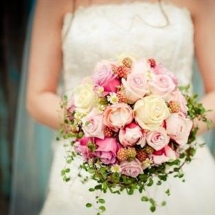 2015 in trend düğün buketleri
