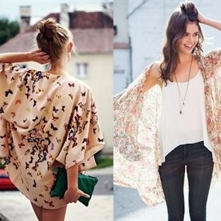 2015 Yaz Trendleri - Kimono Kombinleri