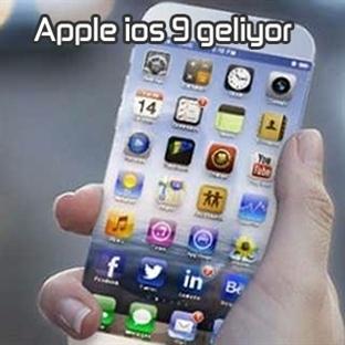 Apple iOS 9 Geliyor