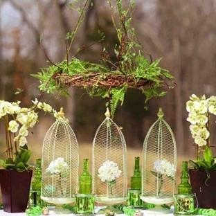 Bahçe Düğünleri için Dekorasyon Önerileri