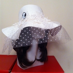 Büyük Gelin Şapkaları (Yaz Düğünleri İçin)