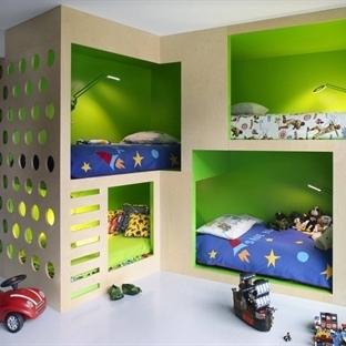 Çocuk ve Genç odaları