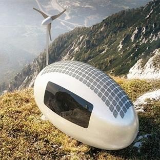 EcoCapsule, Yumurtayı Andıran Mini Ev