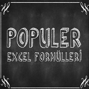 En Sık Kullanılan Excel Formülleri