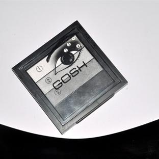 Gosh Smokey Eyes Far Paleti – 01 Black