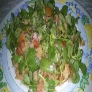 Hatay yöresinin Hettüş salatası