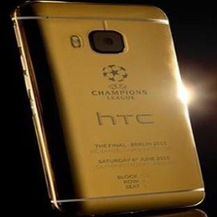 HTC'den UEFA'ya Özel Altın Kaplama: HTC One M9