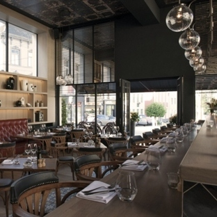 Interieurbureau Wille'den Gent'de Revue Restaurant