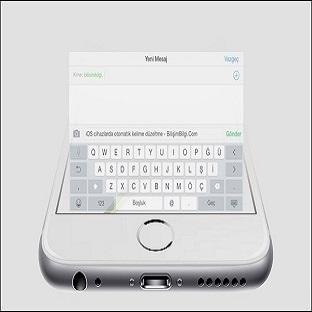 iOS' ta Otomatik Kelime Düzeltme Nasıl Kapatılır?