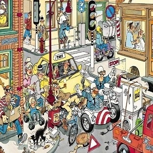 Jan van Haasteren'in  komik puzzle'ları