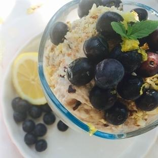 Kahvaltılık Meyveli Ricotta Kupları