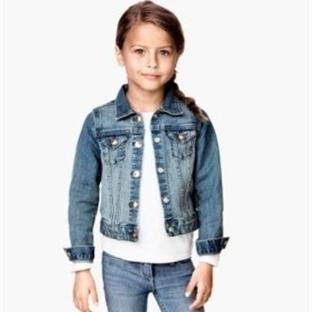 Kız Çocuk Kot Ceket Modelleri