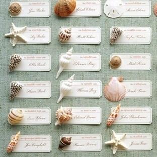 Kumsal Düğünü Masa Kartları