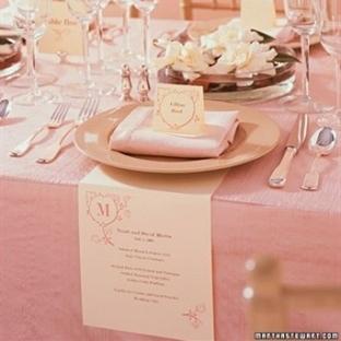 İlginç Düğün Menü Kartları