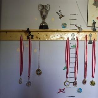 Madalya standımız