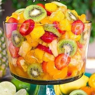 Meyvelerle Yapılabilecek 15 Fikir