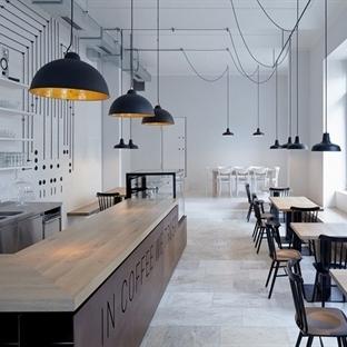 Mimosa Architekti'den Prag'da Proti Proudu Bistro