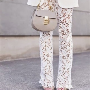 Moda: Dantel Pantolon