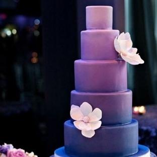 Ombre düğün pastaları