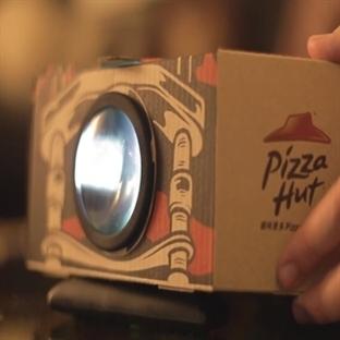 Pizza Hut Projektör Kutuları