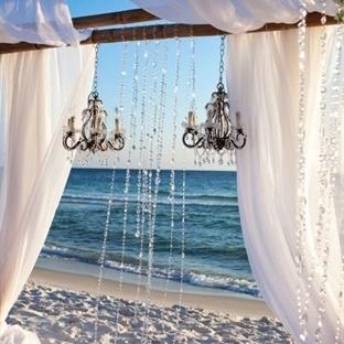 Plaj Düğünü Fikirleri