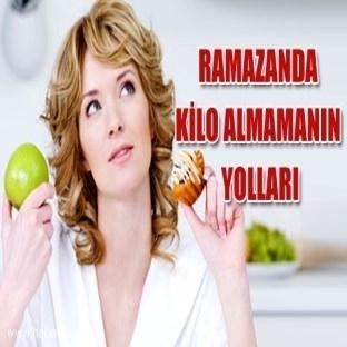 Ramazanda kilo vermeye yarayan diyet listeleri