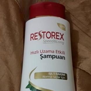 Restorex Hızlı Saç Uzatan Şampuan