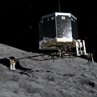 Rosetta'nın Modülü Philea Uyandırıldı