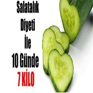 Salatalık Diyeti İle 10 Günde 7 Kilo Verin